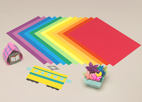 Colored construction papers | Specialty Papers | LINTEC Corporation